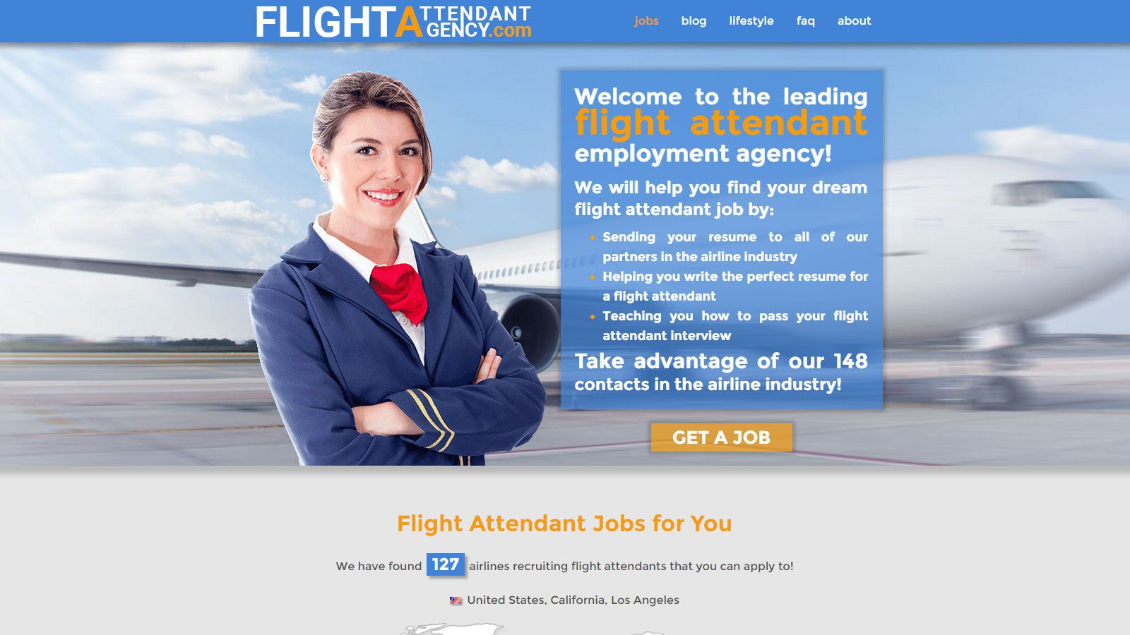 Flight Attendant Agency 1